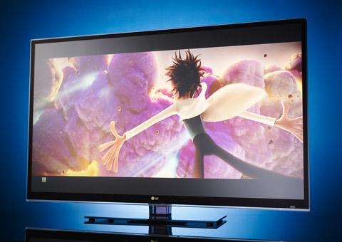 LG 3D TVs