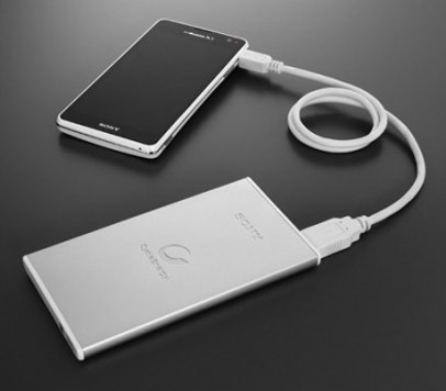 external USB battery