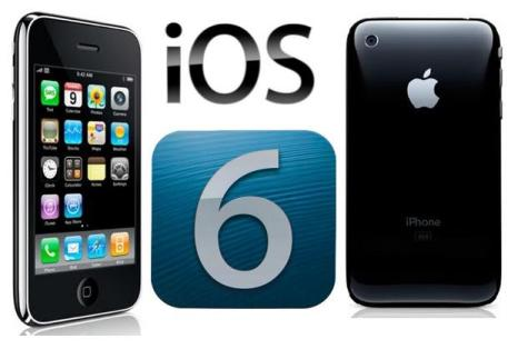 iOS 6 on iPhone 5