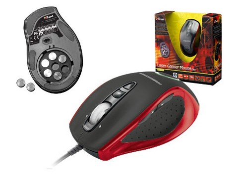 laser gamer mouse Elite GM-4800