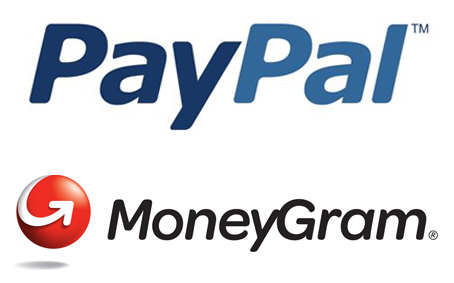 PayPal and MoneyGram