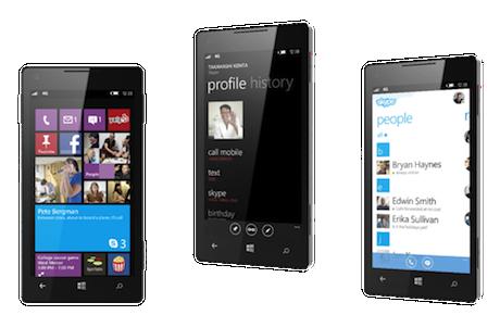 Skype for Windows Phone 8