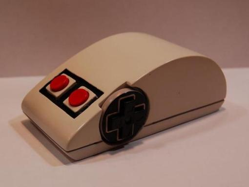 Wireless mouse for NES consoles
