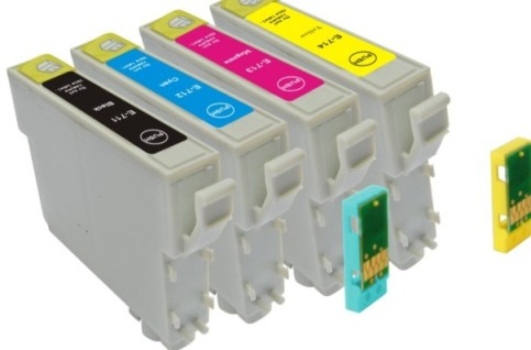 Epson T0711 ink cartridges