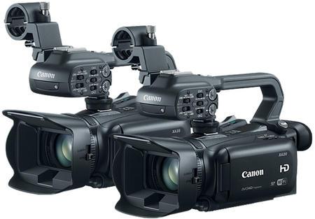 canon XA25 and XA20