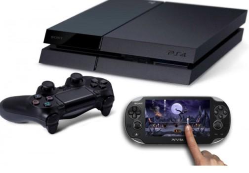PS4 and PSVita