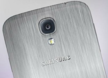 Samsung Galaxy S5 in metal
