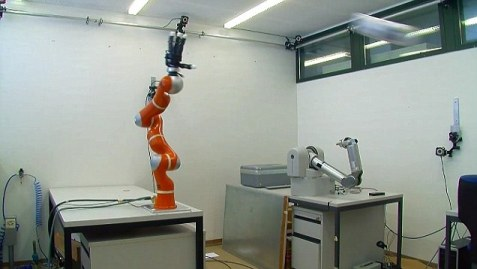 robot catching everything