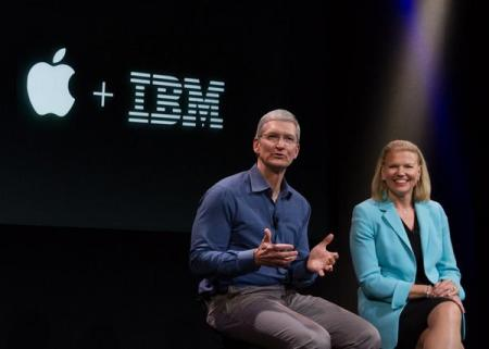 ibm and apple partner