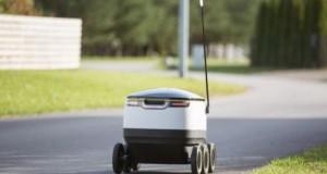 robot make deliveries