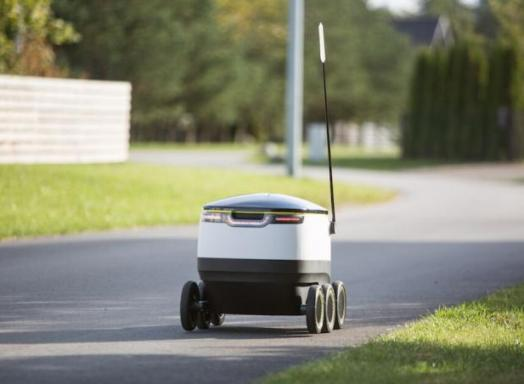 robot make deliveries
