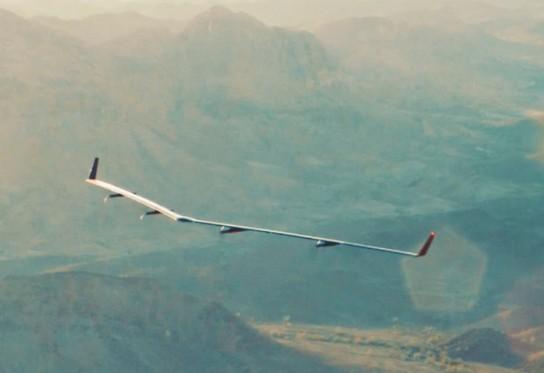aquila facebook solar plane