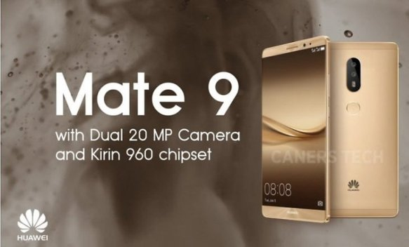 Huawei launches Mate 9